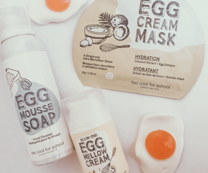 beauty, egg, and products image