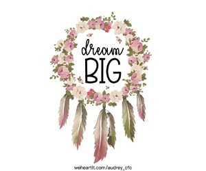 big, Dream, and dream catcher image