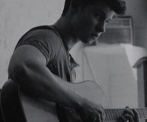 black and white, b&w, and shawn mendes image