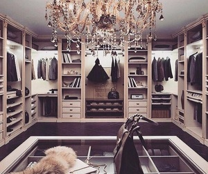 luxury, closet, and home image