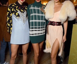 kendall jenner, bella hadid, and joan smalls image