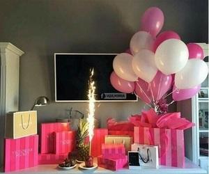 pink, birthday, and Victoria's Secret image