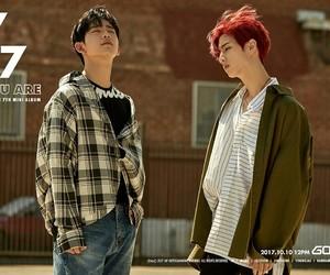 got7, mark, and jinyoung image