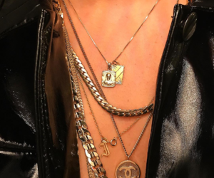 accessories, chain, and chains image