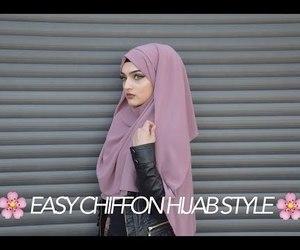 chiffon, Easy, and muslim image