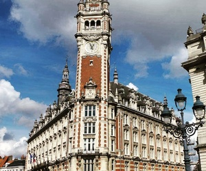 autumn, lille, and clouds image