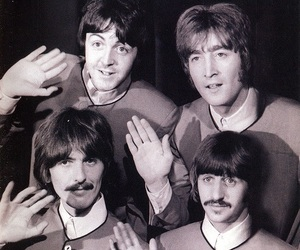 beatles, goodbye, and hello image