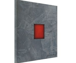 art, red and grey, and office art image