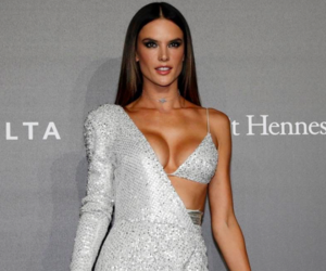 alessandra ambrosio, carpet, and fashion image