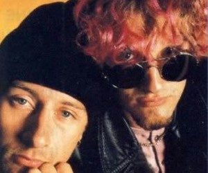 alice in chains, layne staley, and jerry cantrell image