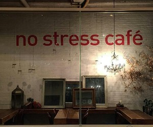 cafe and no stress image