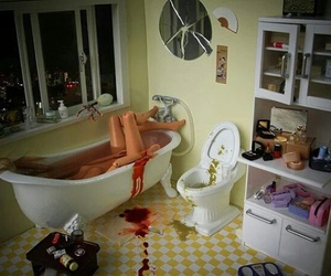 barbie, blood, and suicide image