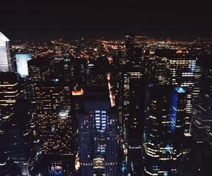 city, nyc, and manhattan image