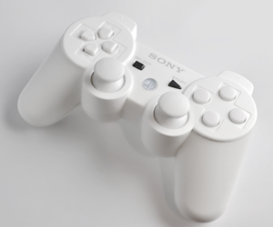 playstation and white image