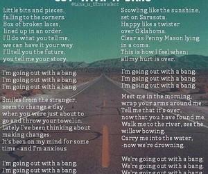 Lyrics, Nevada, and open road image