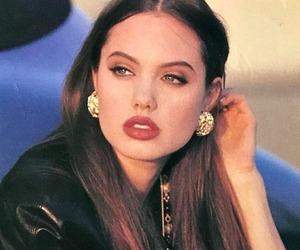 Angelina Jolie, beauty, and makeup image
