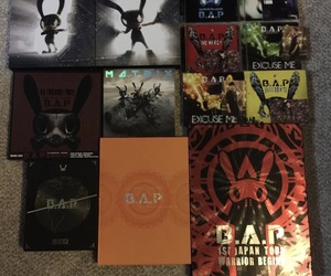 albums, kpop, and b.a.p image