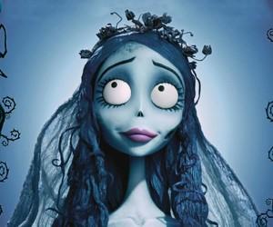corpse bride, emily, and tim burton image