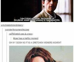 supernatural, mean girls, and funny image
