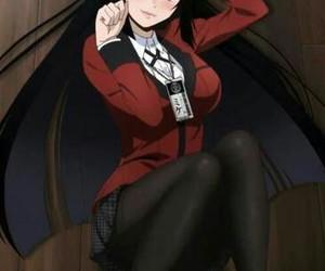 anime, kakegurui, and arts image