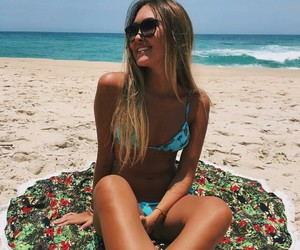beach, brasil, and style image