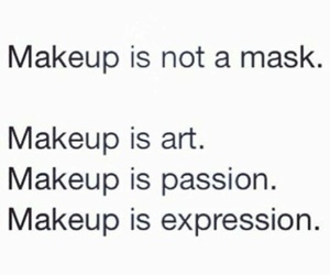 quotes, art, and makeup image