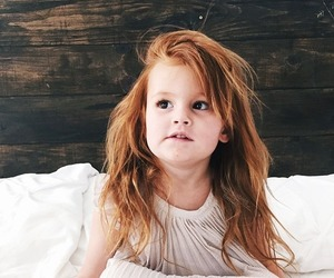 child, redhead, and cute image