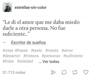 amor, frases, and frases tumblr image