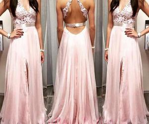 dress, prom dresses, and long prom dress image