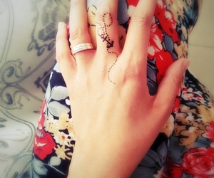 anchor, henna, and trend image