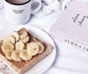 food, book, and coffee image