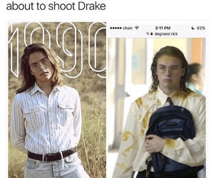 degrassi, meme, and Drake image