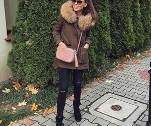accessories, casual, and fall fashion image