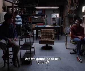 freaks and geeks, hell, and subtitles image
