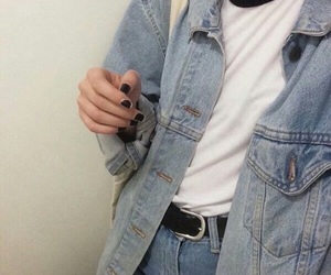 grunge, denim, and jeans image