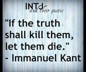 truth and intj image