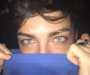 boy and green eyes image