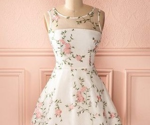 dresses, flowers, and short image