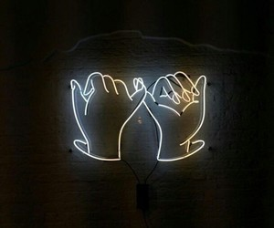 neon, light, and promise image