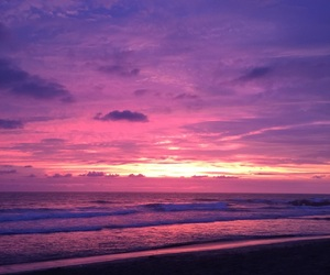 atardecer, love, and beach image