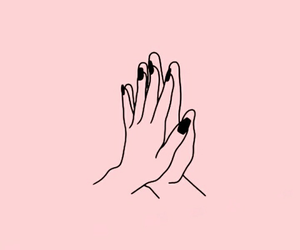 hands, wallpaper, and pink image