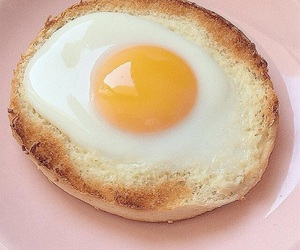 bread, egg, and breakfast image