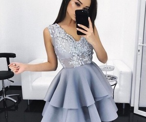 dress, fashion, and beauty image
