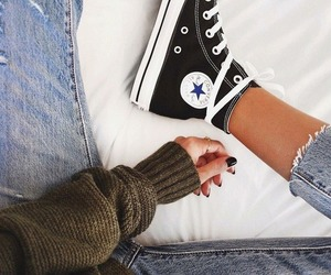fashion, converse, and all stars image