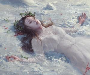 digital art, sparkle, and fantasy art image
