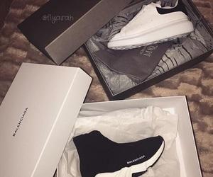 Balenciaga, basket, and shoes image