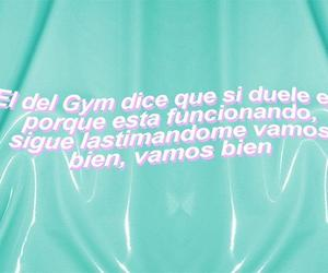 divertido, frases, and gym image