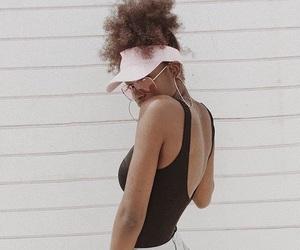 beauty, black, and black girl image