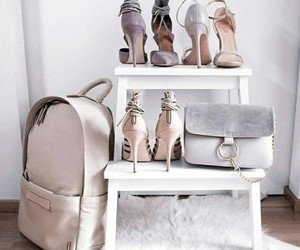bag, style, and white image