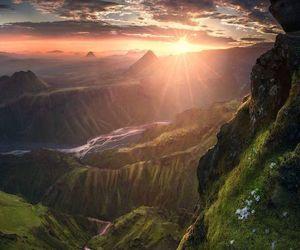 sunrise and 🌄 image